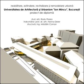 Proiect de diploma - arh. Radu Florea
