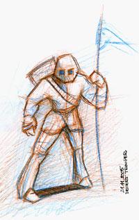 creion grafit / colorat
