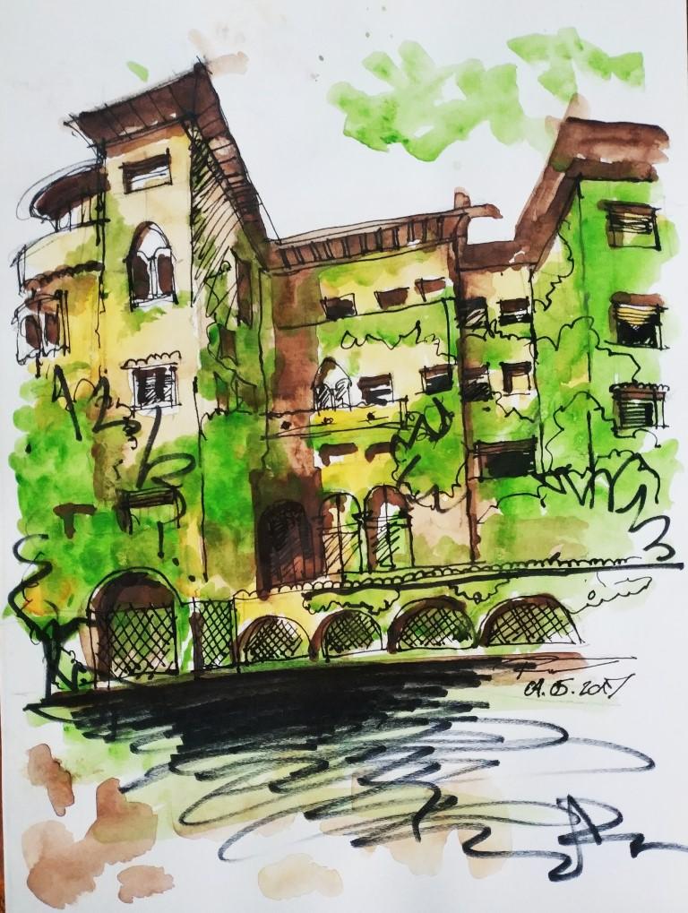 [sold] Popa Nan 34, 21x29cm watercolor on paper